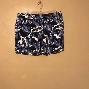 The Limited flowered shorts, size 16. New. Pockets